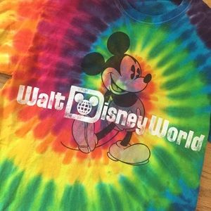 Tie-dye Walt Disney World Tee